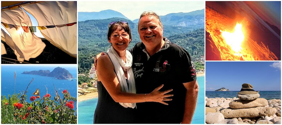 DICH selbst erLEBEN – mit den Elementen der Natur und Michaela und Wolfgang Lugmayr in Korfu 2019